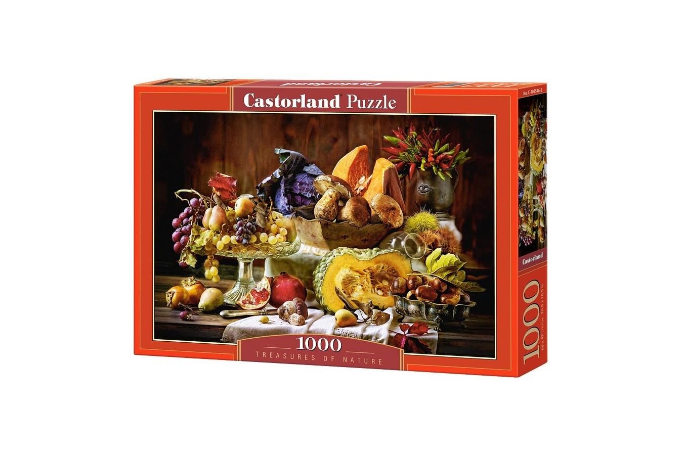 Puzzle Castorland - Treasures of Nature, 1000 piese