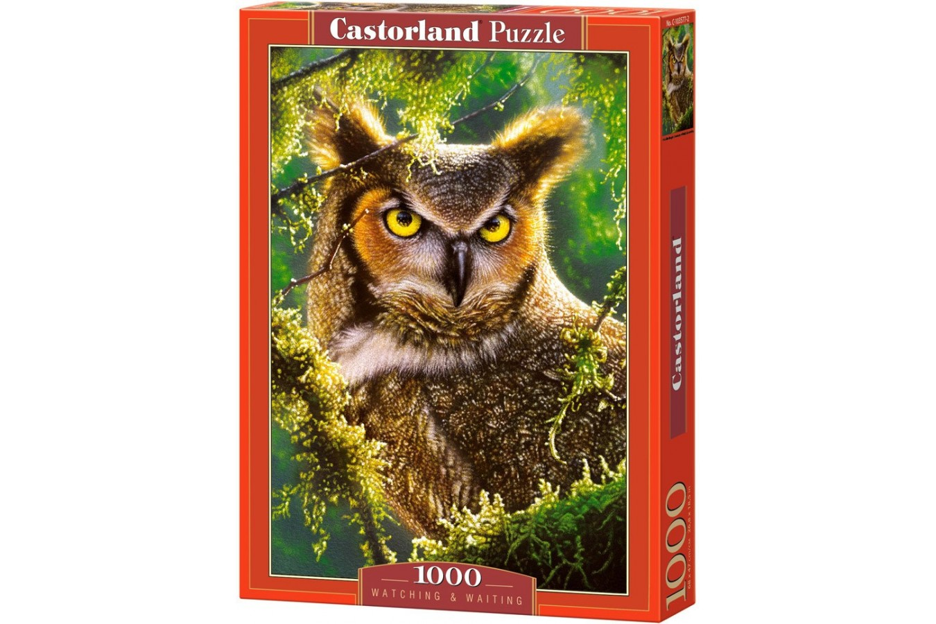 Puzzle Castorland - Watching & Waiting, 1000 piese