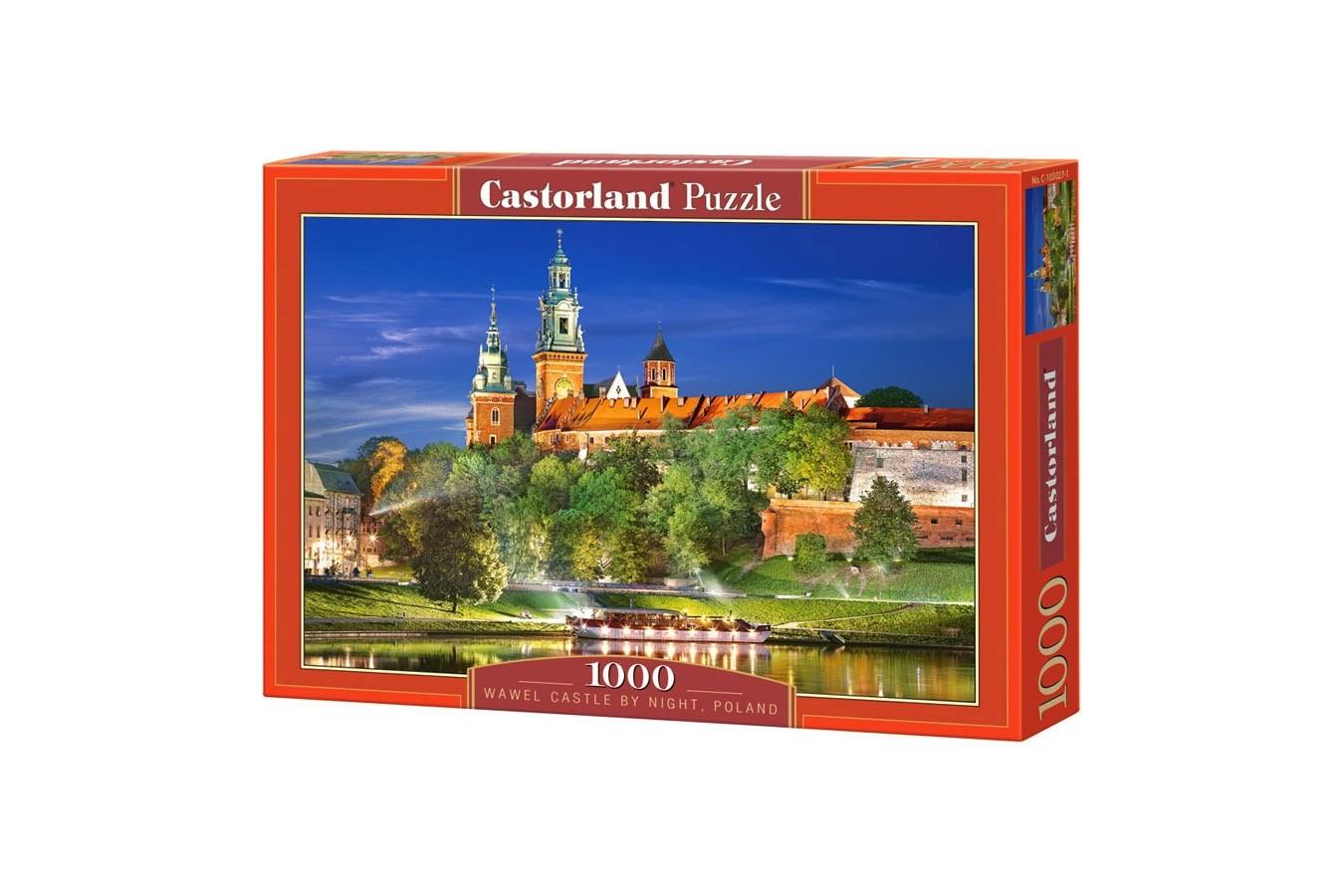 Puzzle Castorland - Wawel Castle Poland, 1000 piese