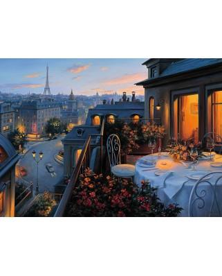 Puzzle Ravensburger - Balconul Parisului, 1.000 piese (19410)
