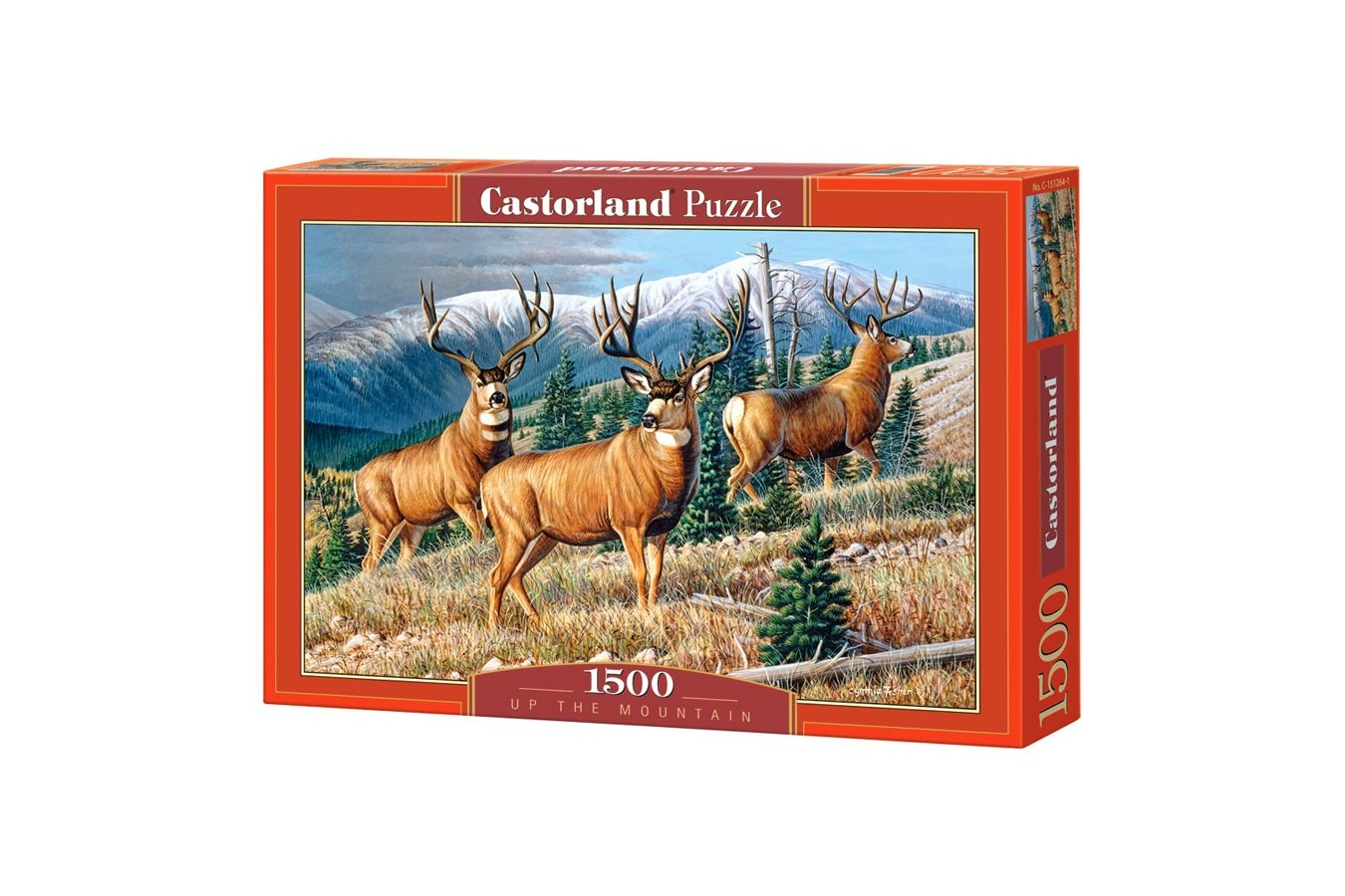 Puzzle Castorland - Copy of Up the Mountain, 1500 piese