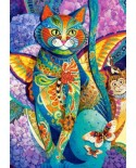 Puzzle Castorland - Feline Fiesta, 1500 piese