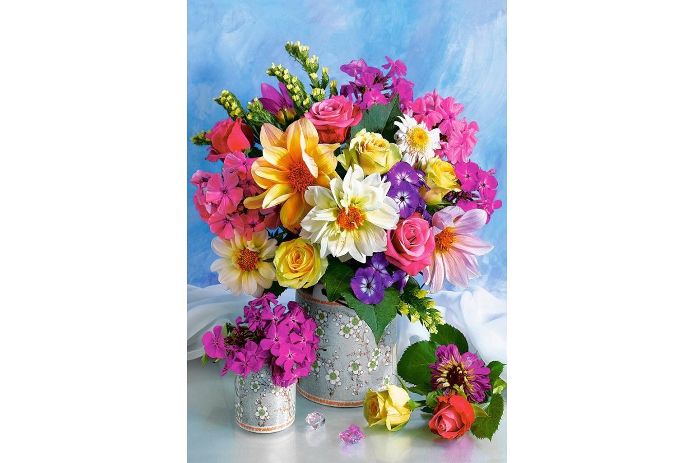Puzzle Castorland - Flower Bouquet, 1500 piese