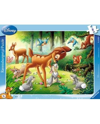 Puzzle Ravensburger - Bambi, 8 piese (06003)