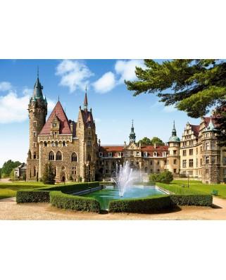 Puzzle Castorland - Moszna Castlle, Poland, 1500 piese