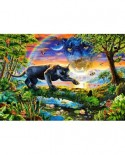 Puzzle Castorland - Panther Twilight, 1500 piese