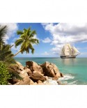 Puzzle Castorland - Sailing in Paradise, 1500 piese