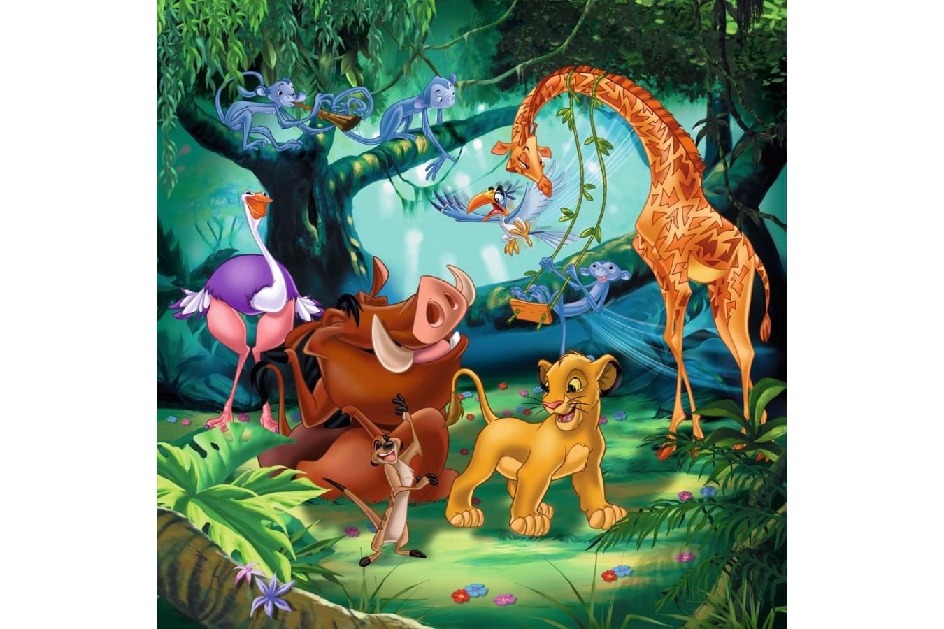 Puzzle Ravensburger - Bambi, 3x49 piese (09365)