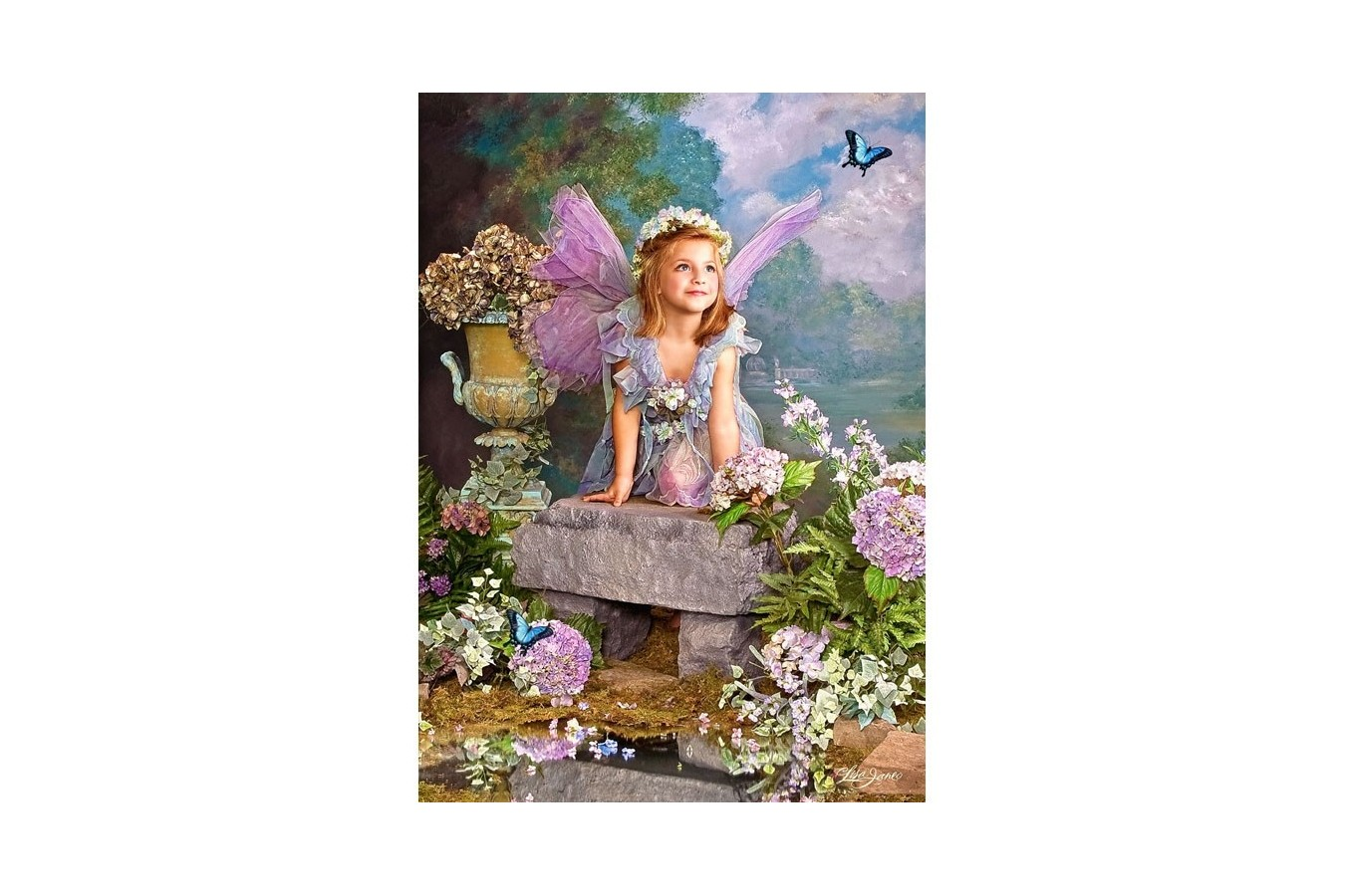 Puzzle Castorland - Spring Angel, 1500 piese