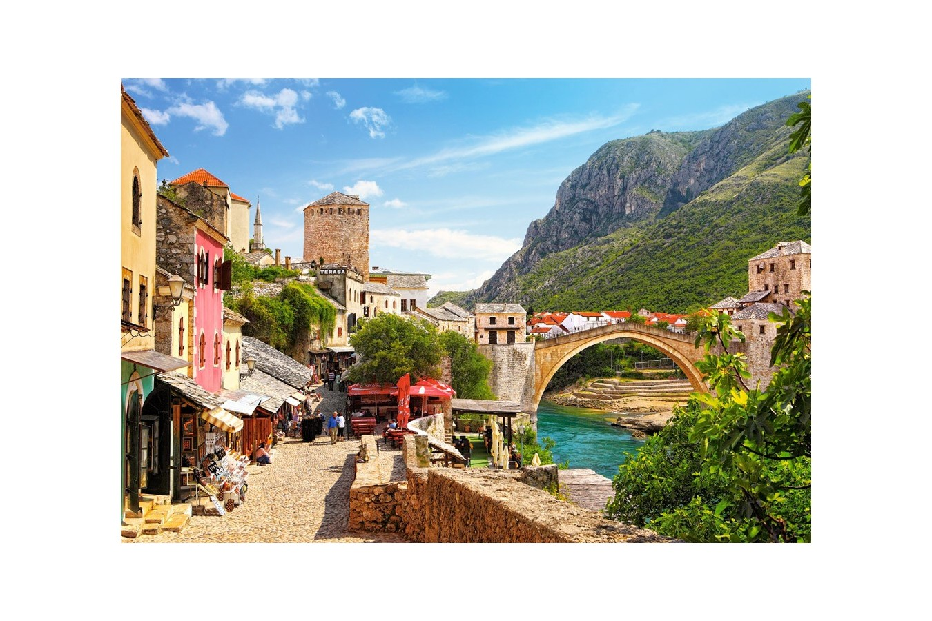 Puzzle Castorland - The Old Town of Mostar, 1500 piese