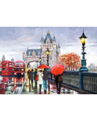 Puzzle Castorland - Tower Bridge, 1500 piese