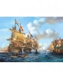 Puzzle Castorland - Copy of Battle of Porto Bello (5904438200245), 2000 piese