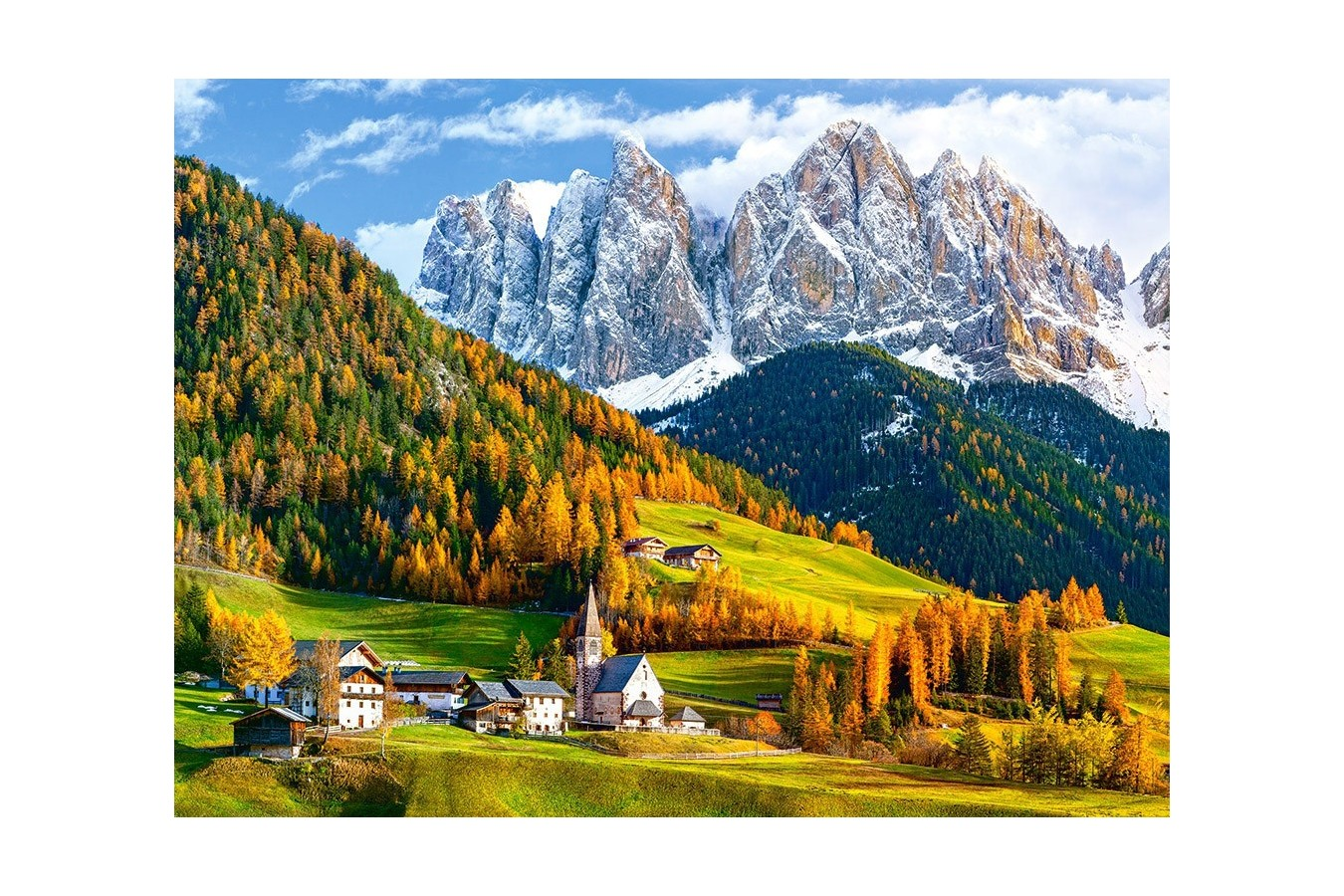 Puzzle Castorland - Curch of St Magdalena Dolomites, 2000 piese