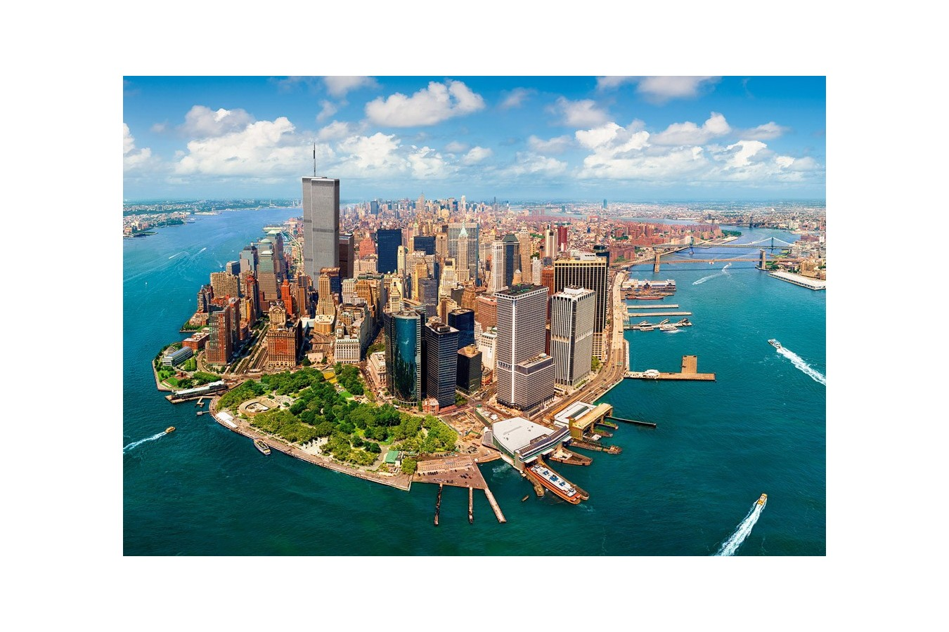 Puzzle Castorland - New York City Befor 9.11, 2000 piese