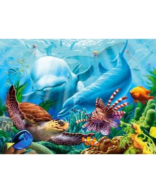 Puzzle Castorland - Ocean Life, 2000 piese