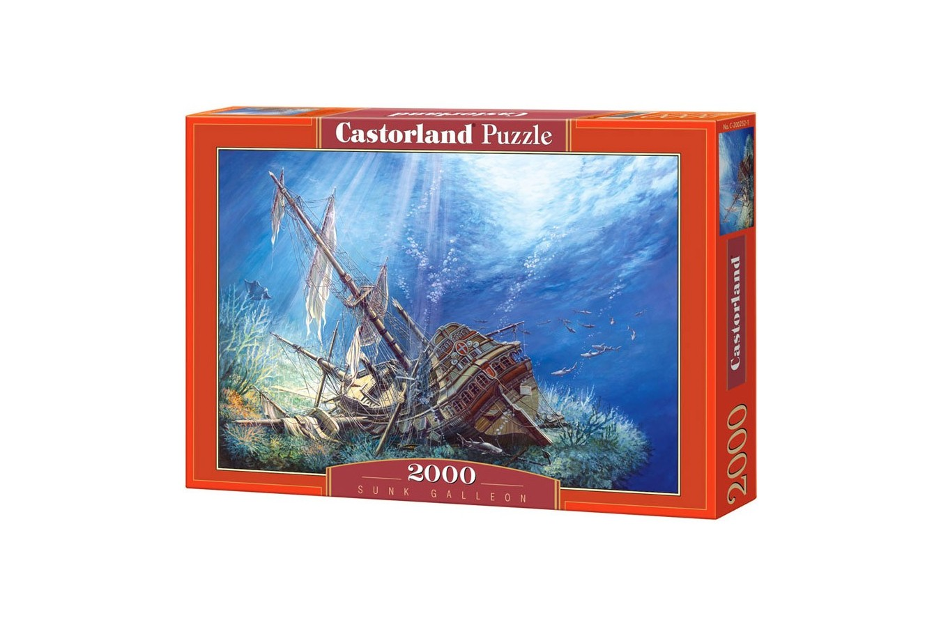 Puzzle Castorland - Sunk Galleon, 2000 piese
