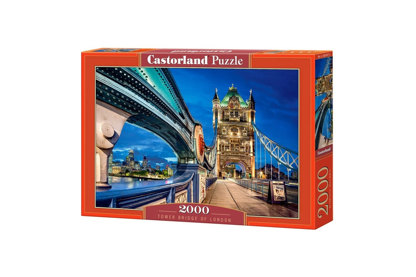 Puzzle Castorland - Tower Bridge of London, 2000 piese