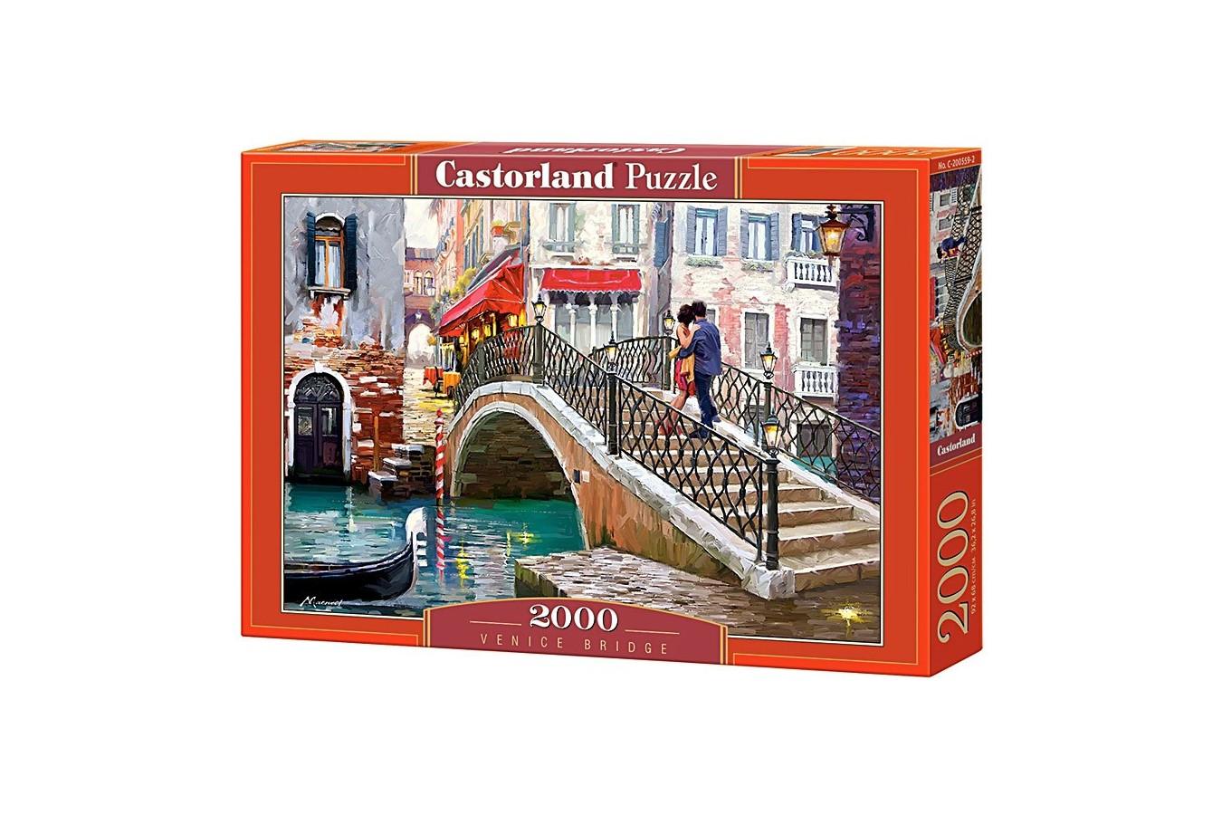 Puzzle Castorland - Venice Bridge, 2000 piese