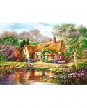 Puzzle Castorland - Copy of Twilight at Woodgreen Pond, 3000 piese