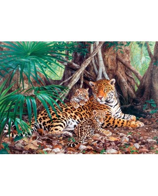 Puzzle Castorland - Jaguars in the Jungle (5904438300280), 3000 piese