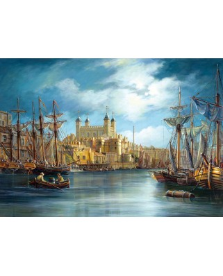 Puzzle Castorland - New Day at the Harbour, 3000 piese