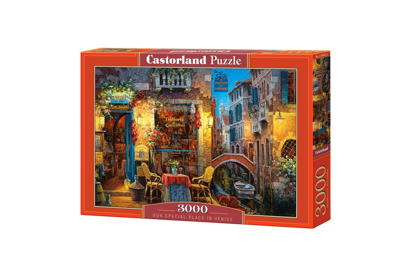 Puzzle Castorland - Our Special Place in Venice, 3000 piese
