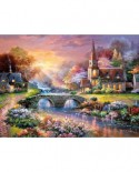 Puzzle Castorland - Paceful Reflections, 3000 piese