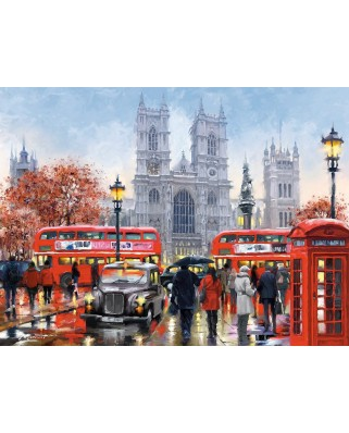 Puzzle Castorland - Westminister Abbey, 3000 piese