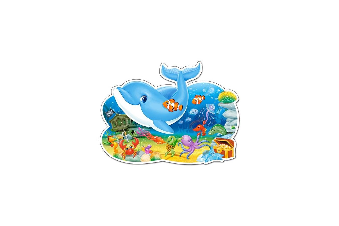 Puzzle Castorland Maxi - Underwater Friends, 12 Piese