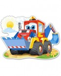 Puzzle Castorland Maxi - Funny Digger, 12 Piese