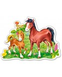 Puzzle Castorland Midi - A Little Beautiful Foal, 15 Piese
