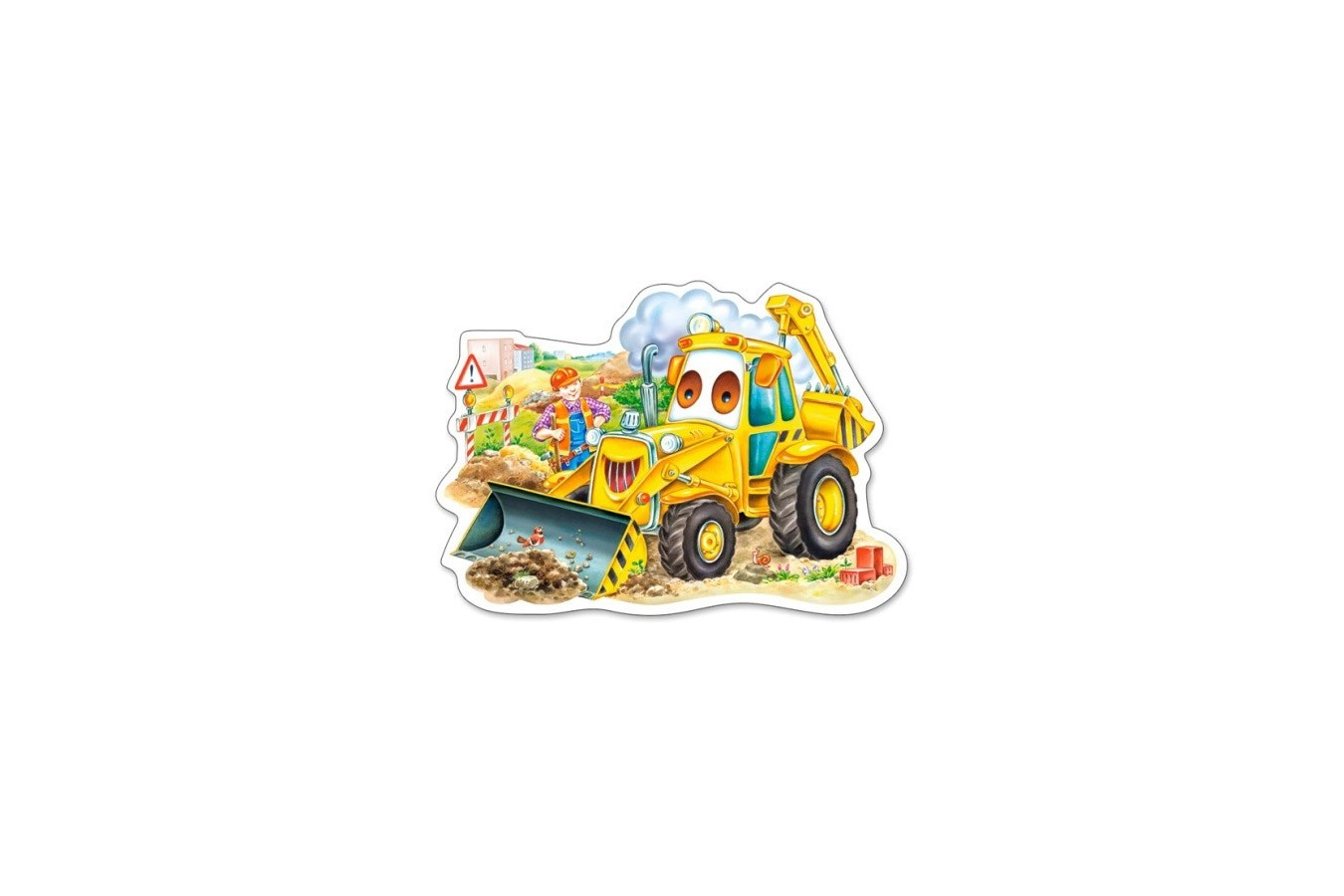 Puzzle Castorland Midi - A Smiling Digger, 15 Piese