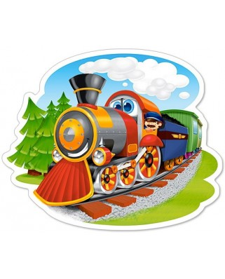 Puzzle Castorland Midi - Steam Train, 15 Piese