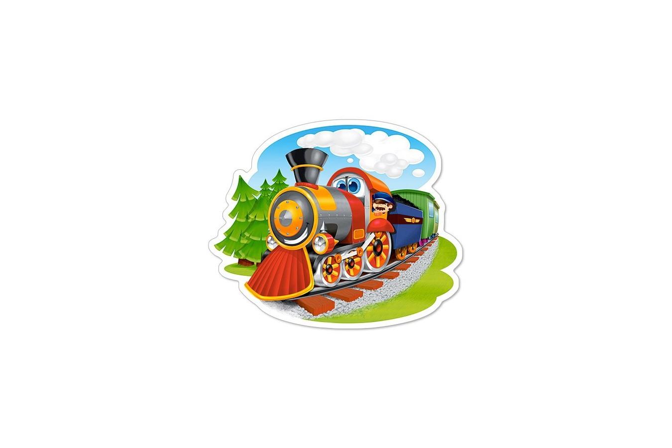 Puzzle Castorland Midi - Steam Train, 15 Piese
