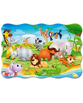 Puzzle Castorland Maxi - African Animals, 20 Piese