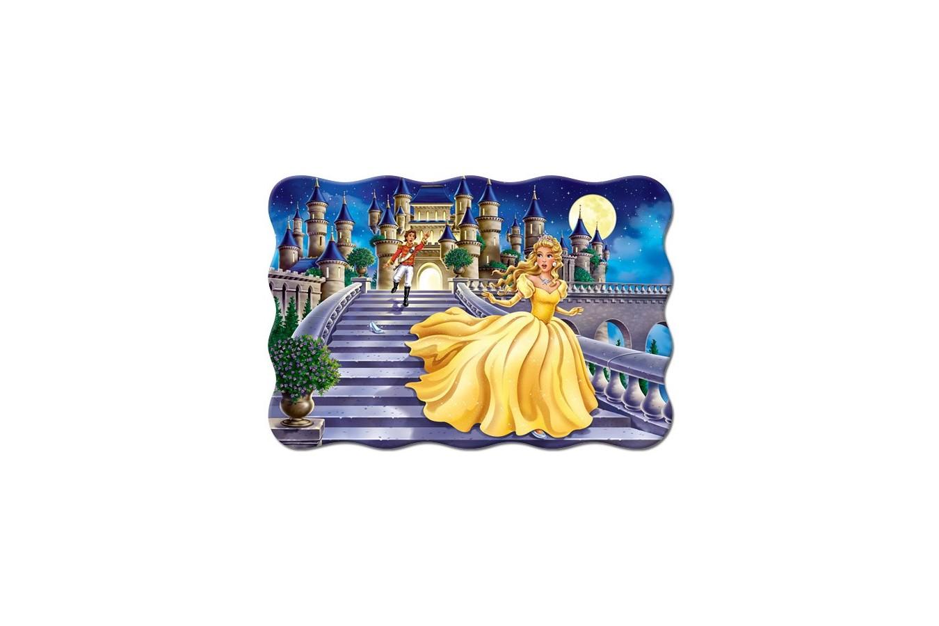 Puzzle Castorland Maxi - Cinderella, 20 Piese
