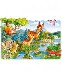 Puzzle Castorland Maxi - Little Deer, 20 Piese