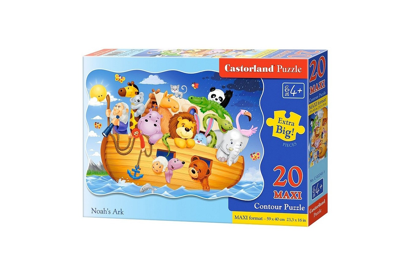 Puzzle Castorland Maxi - Noah's Ark, 20 Piese
