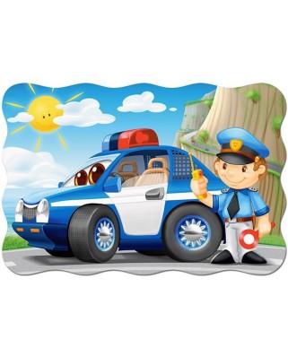 Puzzle Castorland Maxi - Police Patrol, 20 Piese