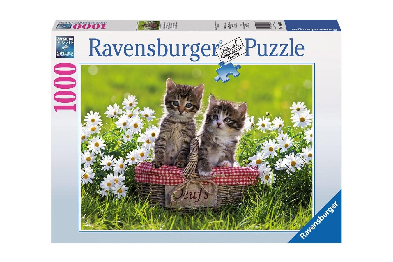 Puzzle Ravensburger - Pisicile, 1.000 piese (19480)