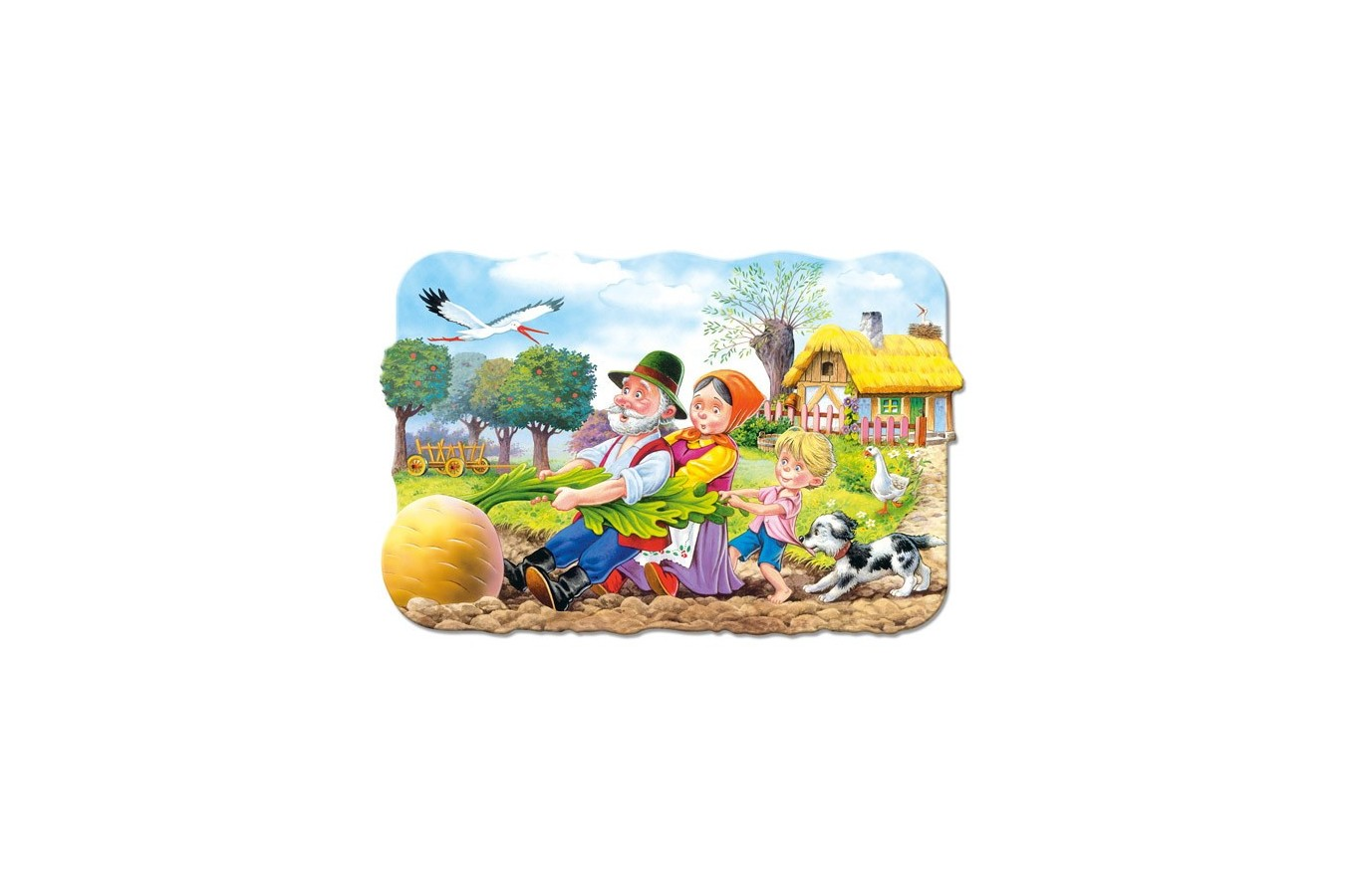 Puzzle Castorland - Big Turnip, 30 Piese
