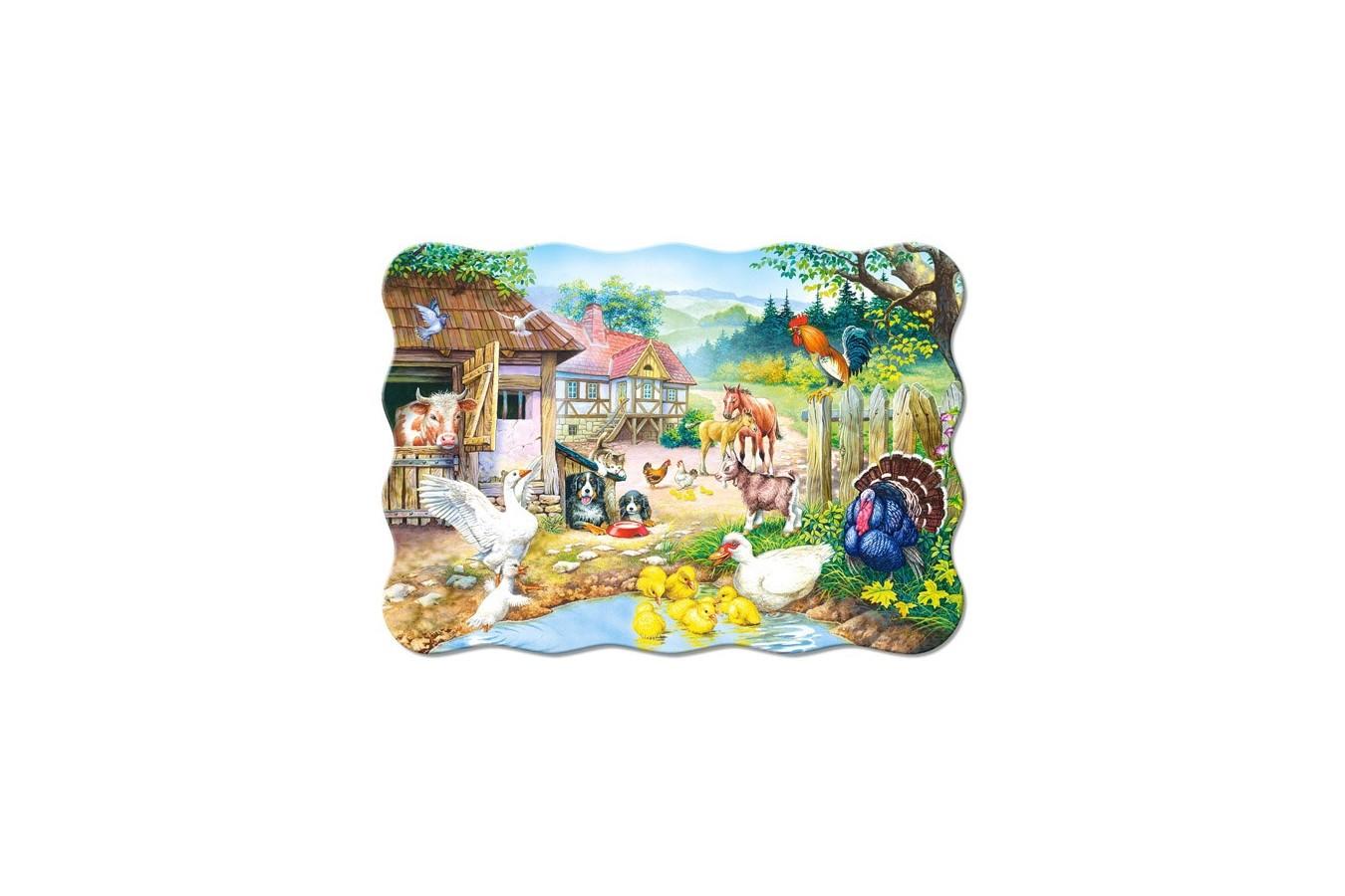 Puzzle Castorland - Farm, 30 Piese