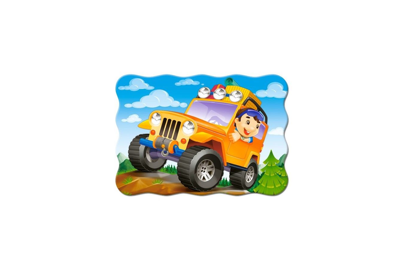Puzzle Castorland - Off Road Ride, 30 Piese