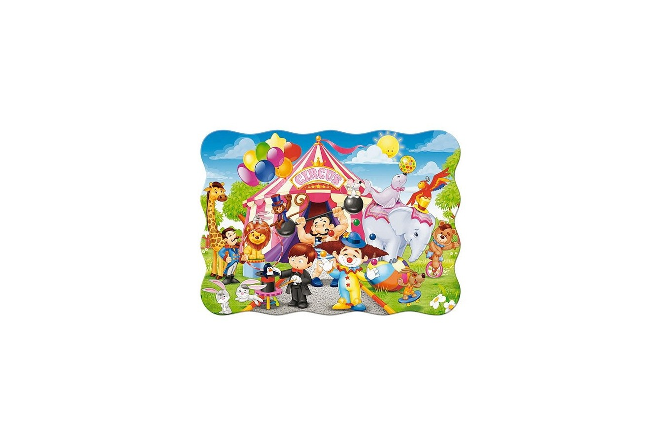 Puzzle Castorland - The Circus, 30 Piese