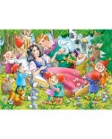 Puzzle Castorland - Snow White And The Seven Dwarfs, 35 Piese