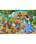 Puzzle Castorland - Snow White And The Seven Dwarfs, 40 Piese