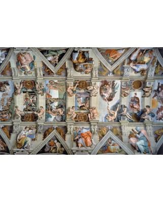 Puzzle Ravensburger - Michelangelo: Capela Sixtina, 5.000 piese (17429)