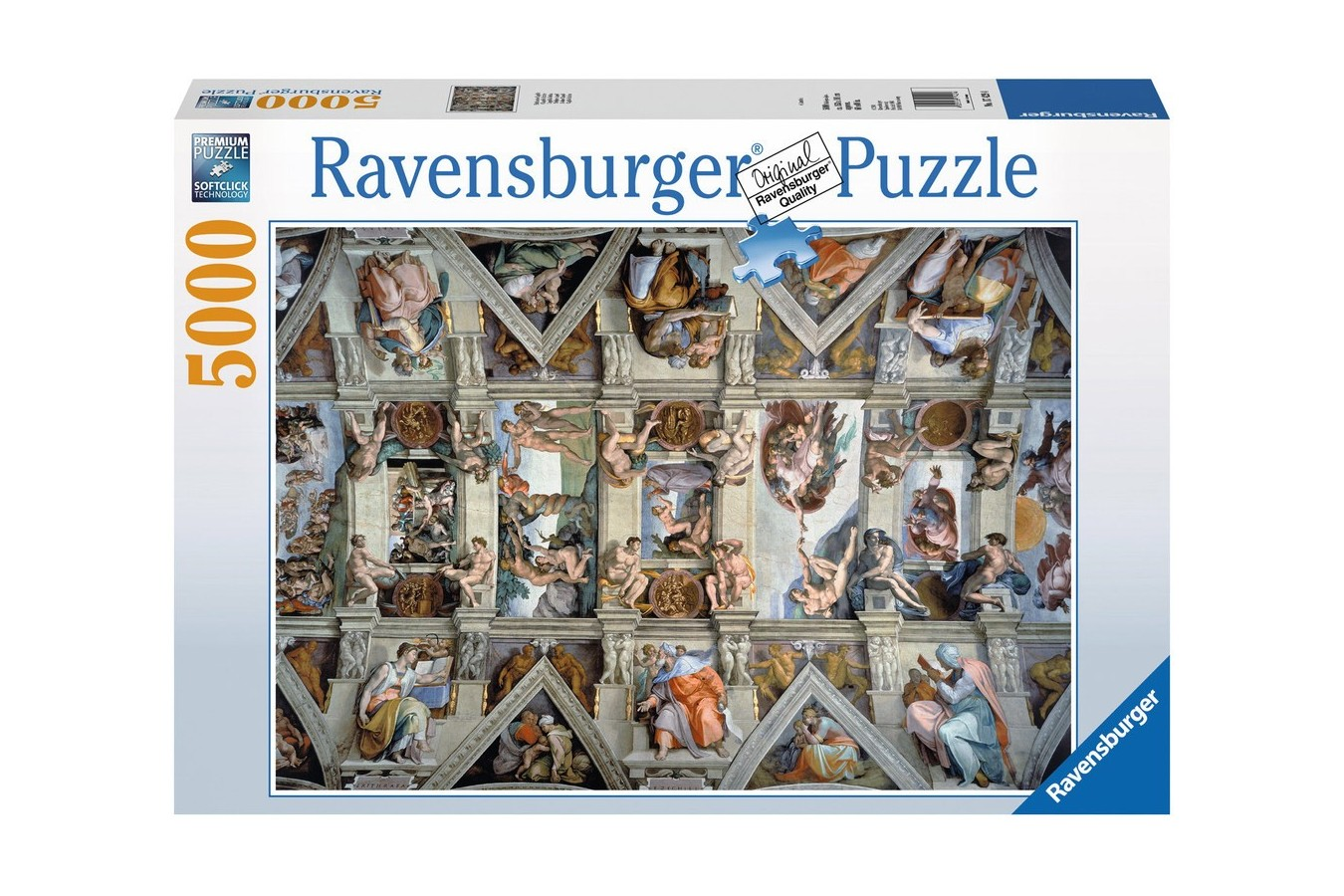 Puzzle Ravensburger - Michelangelo: Capela Sixtina, 5000 piese (17429)