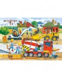 Puzzle Castorland Maxi - Construction Site, 40 Piese