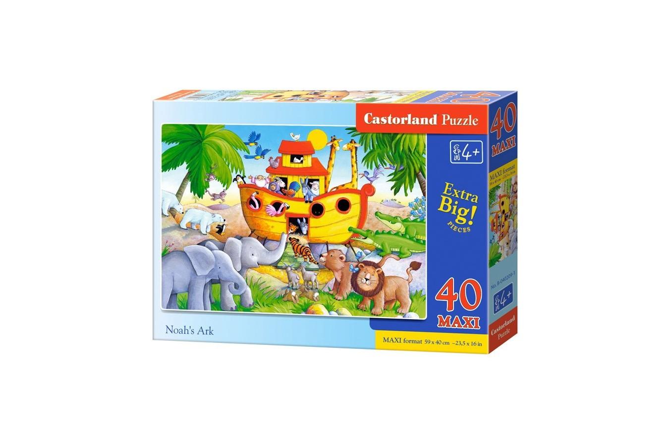 Puzzle Castorland Maxi - Noahs Ark, 40 Piese